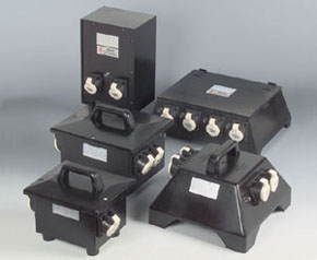 Safety low voltage transformer 42 V