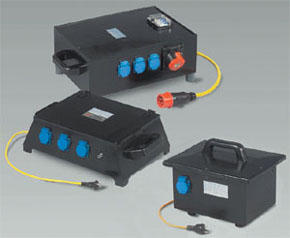 Isolating transformer 230/230V and 400/400/230V